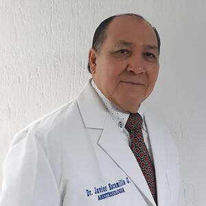 Dr. Javier Escamilla Penagos, Anestesiología